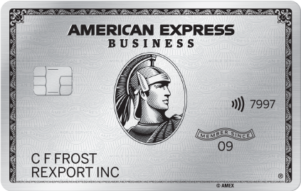 American Express Business Platinum Amazon Seller Credit Card-wb940