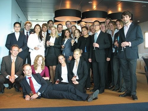 Charlotte's graduating class of 2009, in Rotterdam, the Netherlands.