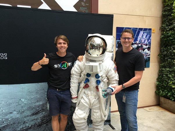 At Google X, celebrating the 50th anniversary of the Moon landing!