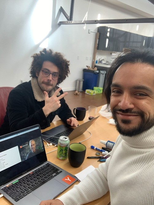 Josh and Daniel on YC's second-ever remote Demo Day