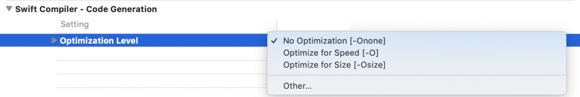 Xcode-Optimization-Level-1180x199-05jfx